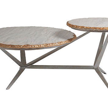 Cosmos Coffee Table, Gray - Artistica - Brands | One Kings Lane