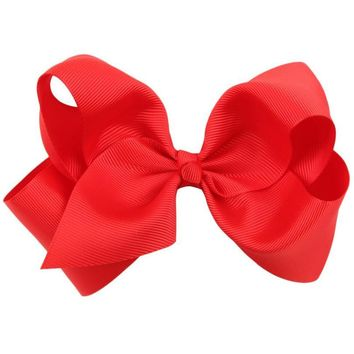 Durable Hair accessory New baby girl Boutique Hair Bows clip Children's Butterfly Knot Hair Clip