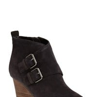 Women's DV Footwear 'Fabian' Monk Strap Wedge Bootie