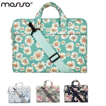 Flower Designer Notebook Shoulder Bag for Macbook /Acer/Asus