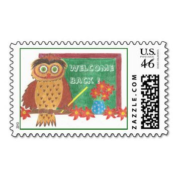 Back-to-school 2 ! stamps from Zazzle.com