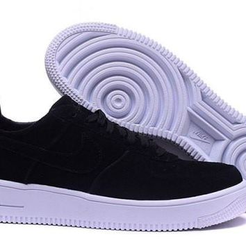 Nike Air Force 1 Ultraforce Black & White Casual Shoes Sneakers For Men