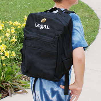 Embroidered Icon Backpack