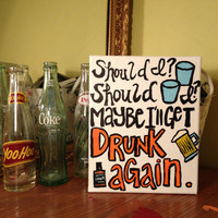 Inspired by Ed Sheeran Drunk by MsDoArt on Etsy