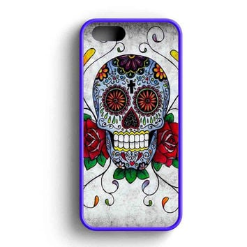 Sugar Skull iPhone 5 Case Available for iPhone 5 Case iPhone 5s Case iPhone 5c Case iPhone 4 Case