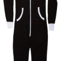 Big Feet Black Hoodie Jumpsuit (XL)