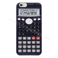"""Silicone """"Calculator"""" Phone Case For Apple iPhone 5 5S"""