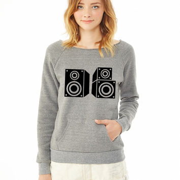Music speaker 9 ladies sweatshirt
