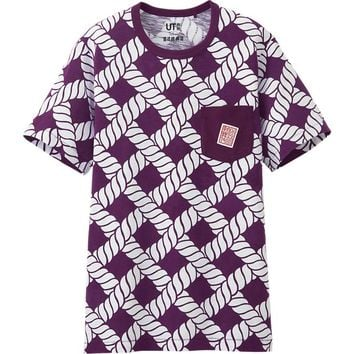 MEN SHOCHIKU KABUKI GRAPHIC SHORT SLEEVE T SHIRT | UNIQLO