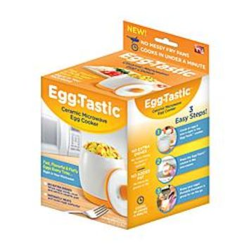 As Seen On TV Eggtastic Ceramic Microwave Egg Cooker - Appliances - As Seen on TV