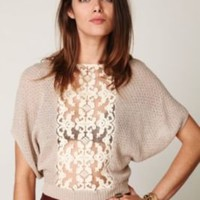 Free People Goldie's Lurex Swit Top at Free People Clothing Boutique