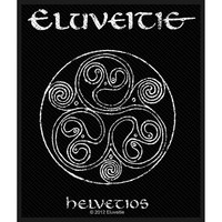 Eluveitie Men's Helvetios Woven Patch Black
