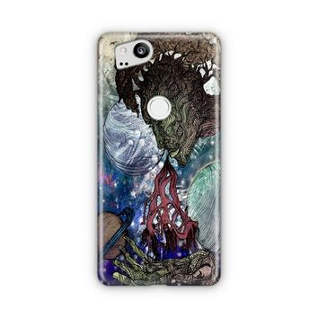 Trippy Psychedelic Space Galaxy Google Pixel 3 Case | Casefantasy