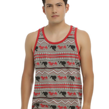Disney The Lion King Scar & Hyenas Tribal Tank Top