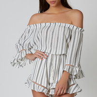 Stripe It Together Romper