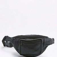 Urban Renewal Vintage Re-Made Black Leather Bum Bag - Urban Outfitters