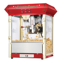 Great Northern Popcorn Red Antique Style Popcorn Popper Machine 8 Ounce 8 Oz
