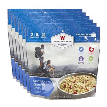 Strawberry Granola Crunch Camping Food (Case of 6)