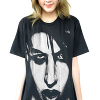 Marilyn Manson Face T-Shirt Sz.S,M,L,XL