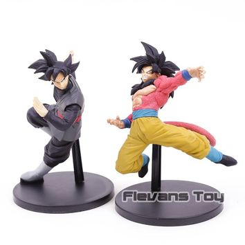Dragon Ball Super Banpresto Son Gokou FES !! Super Saiyan 4 Son Goku / Goku Black PVC Figure Collectible Model Toy