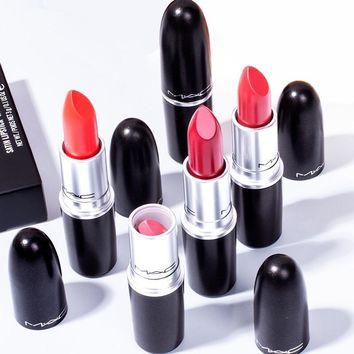 Mac 10 Different Colors Sexy Matte Lipstick Long-lasting Easy to Wear Pencil Lip Stick  Cosmetic With Box