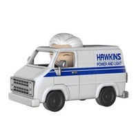 Stranger Things Brenner with Hawkins Utility Van Dorbz Ridez Figure