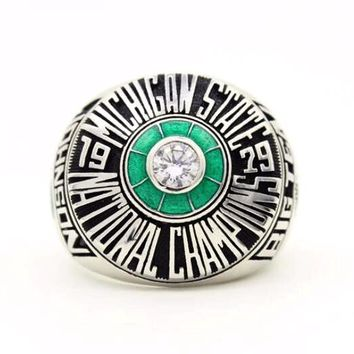 Michigan State Spartans Basketball (1979) Magic Johnson Championship Replica NCAA Ring