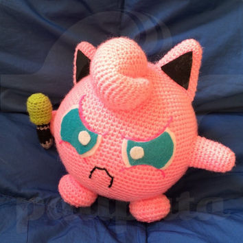 Amigurumi Jigglypuff Pattern : Shop Amigurumi Pokemon on Wanelo