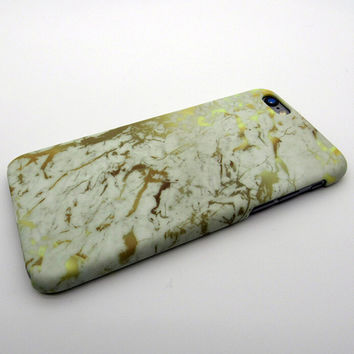 Vintage Gold Marble Stone iPhone 5se 5s 6 6s Plus Case Cover + Nice Gift Box 269