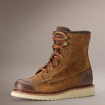 Brown DAKOTA WEDGE by TheFryeCompany,