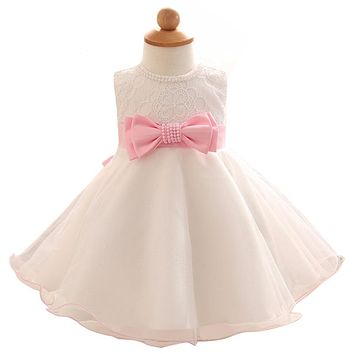 Baby Baptism Dress for 1 Year Birthday Wedding Party Dress Beautiful Dress Age 0-24 Months Infant Costume For Kids Girls Clothes