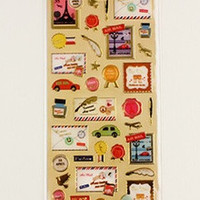 Paris Mail Sticker Sheet