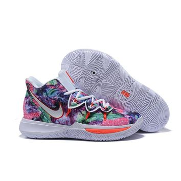 "Nike Kyrie 5 PE ""Neon Blends"" Women Shoes Kid Sports Shoes - Bes 69f082a5be"