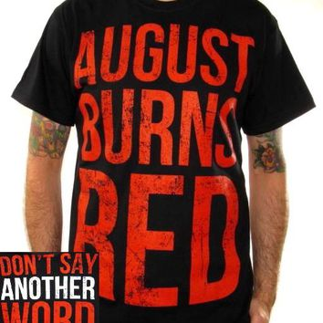 August Burns Red T-Shirt - Don't Say Another Word