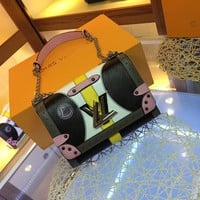 Louis Vuitton LV Women Leather Shoulder Bag Satchel Tote Bag Handbag Shopping Leather Tote Crossbody Satchel Shouder Bag created