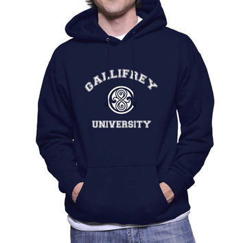 Gallifrey university printed on Unisex Hoodie