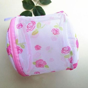 DKLW8 2016 Hot Selling 1pc Convenient Bra Lingerie Wash Laundry Bags Home Using Clothes Washing Net