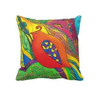 Psycho-Delic Dan pillow from Zazzle.com