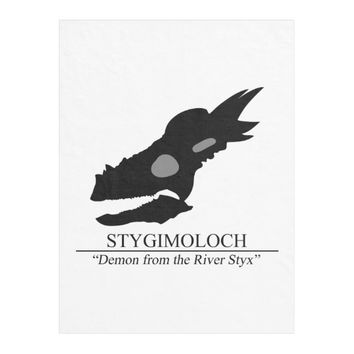 Stygimoloch Skull Fleece Blanket
