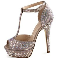 Crystal T-strap Pump