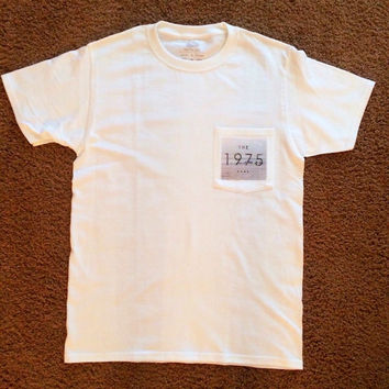 The 1975 band pocket tee