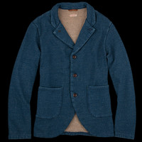 UNIONMADE - Kapital - Fleece Farm Jacket in Indigo