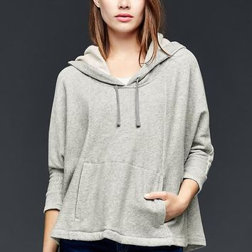 Gap Women Fleece Cape Hoodie