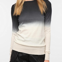 Sparkle & Fade Dip-Dye Pullover Sweater