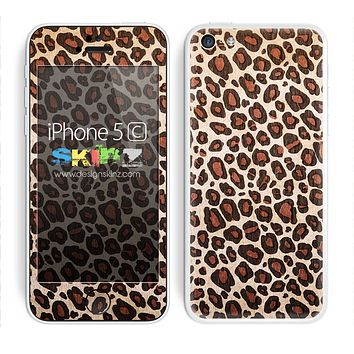 Vector Cheetah Animal Print V2 Skin For The iPhone 5c