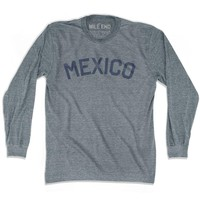 Mexico City Vintage Long Sleeve T-shirt