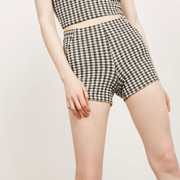Gingham shorts - Shorts - Bershka Germany