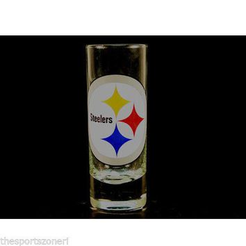Pittsburgh Steelers 2 oz. Cordial Hype Shot Glass