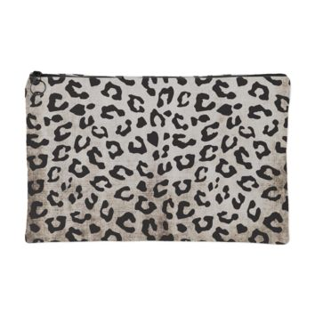 Leopard Makeup Pouch | The Inked Elephant