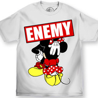 Enemy of the State Magic Kingdome Tee White